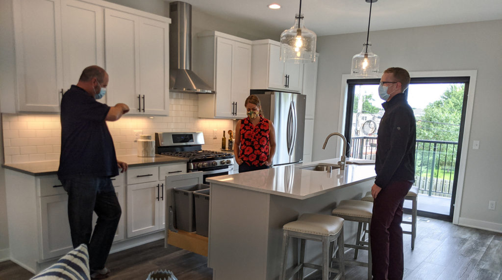 Touring a new affordable Richfield townhome